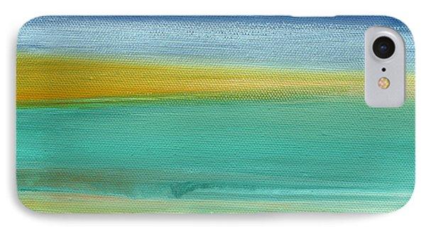 Ocean Blue 3- Art By Linda Woods IPhone Case by Linda Woods
