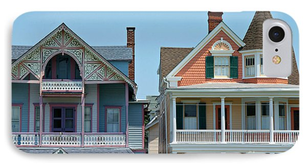 Ocean Grove Gingerbread Homes Phone Case by Anna Lisa Yoder
