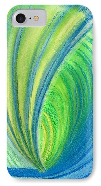 Ocean Of Dark And Light IPhone Case by Kelly K H B