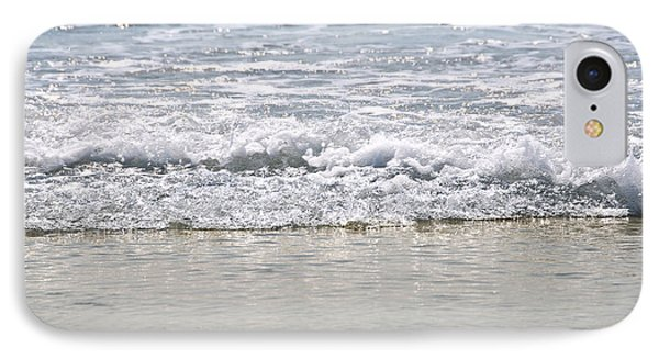 Ocean Shore With Sparkling Waves Phone Case by Elena Elisseeva