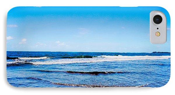 Ocean Trail At Isla Verde Phone Case by Sandra Pena de Ortiz