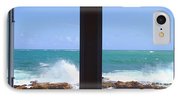 Ocean View IPhone Case by Carey Chen