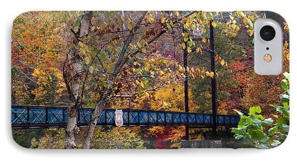 Ocoee River Bridge Phone Case by Debra and Dave Vanderlaan