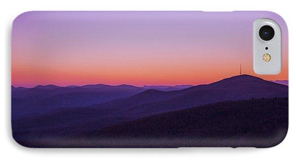 Of Distant Peaks IPhone Case by William Bentley
