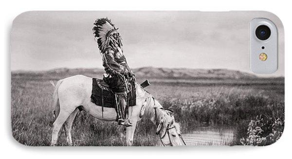 Oglala Indian Man Circa 1905 Phone Case by Aged Pixel