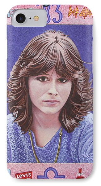 Oh Sherrie IPhone Case by Lance Bifoss