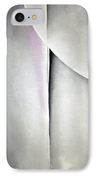 O'keeffe's Line And Curve IPhone Case by Cora Wandel