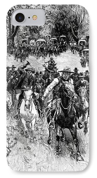 Oklahoma Land Rush, 1891 Phone Case by Granger