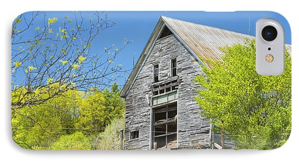 Old Barn In Spring Maine IPhone Case by Keith Webber Jr