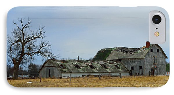 Old Barns In The Heartland Phone Case by Alys Caviness-Gober