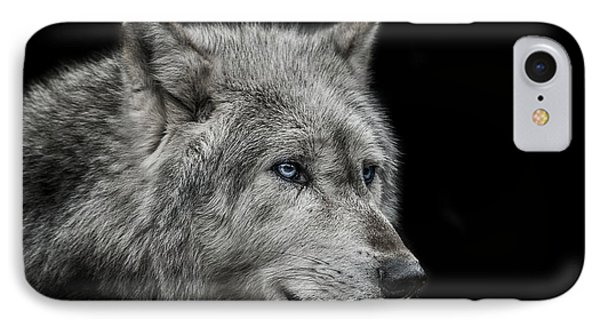 Old Blue Eyes IPhone 7 Case by Paul Neville