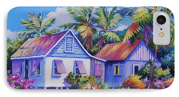 Old Cayman Cottages IPhone Case by John Clark