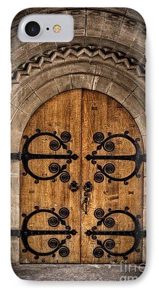Old Church Door IPhone Case by Edward Fielding