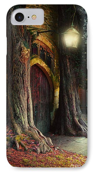 Old Church Door IPhone Case by Jill Battaglia