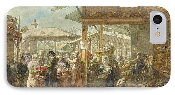 Old Covent Garden Market Phone Case by George the Elder Scharf