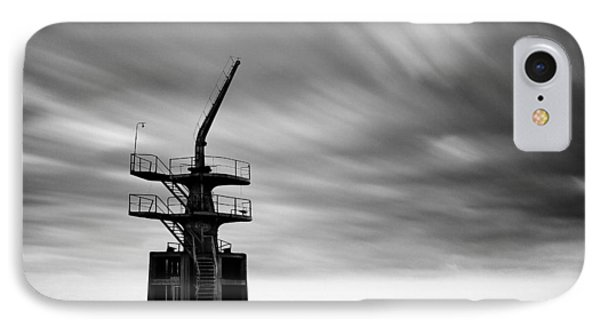 Old Crane IPhone Case by Dave Bowman