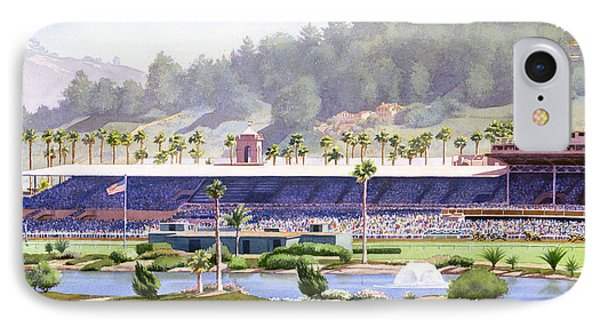 Old Del Mar Race Track IPhone Case by Mary Helmreich