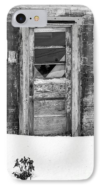 Old Door Winchester Nh IPhone Case by Edward Fielding