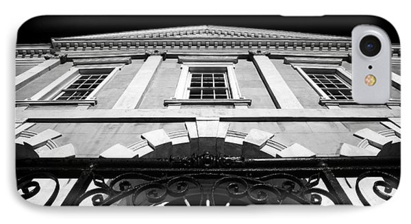 Old Exchange Building IPhone Case by John Rizzuto