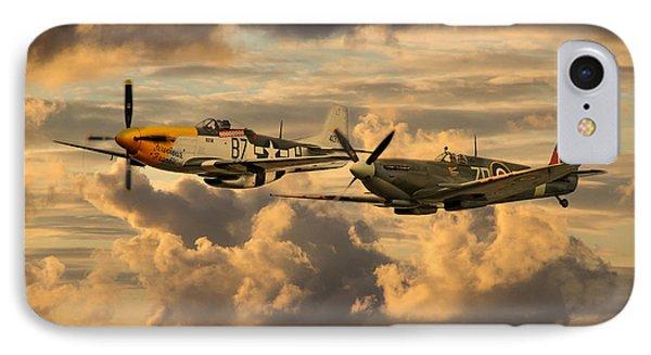 Old Flying Machines  IPhone Case by J Biggadike