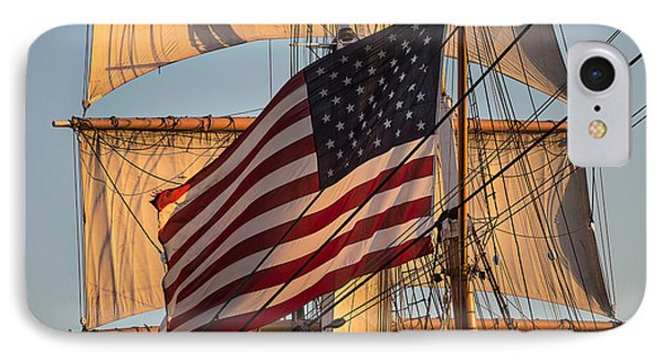 Old Glory IPhone Case by Peter Tellone