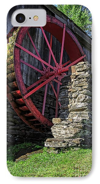 Old Grist Mill Vermont IPhone Case by Edward Fielding