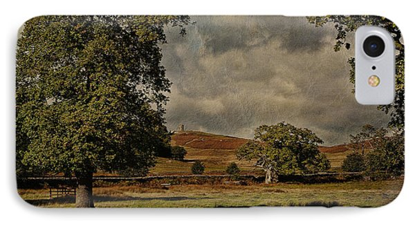 Old John Bradgate Park Leicestershire Phone Case by John Edwards