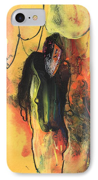 Old Man In Morocco Phone Case by Miki De Goodaboom