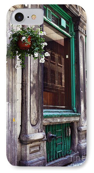 Old Montreal Architecture Phone Case by John Rizzuto