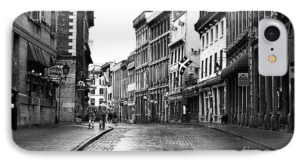 Old Montreal Streets IPhone Case by John Rizzuto