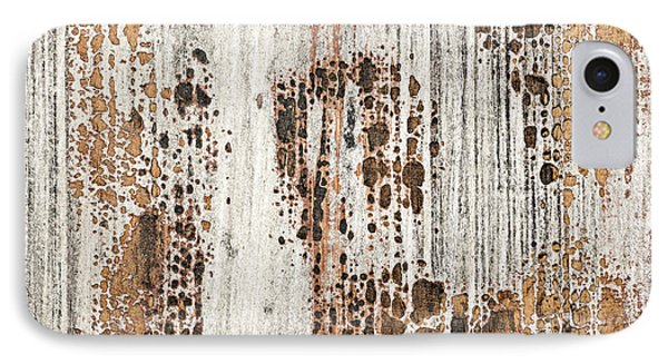 Old Painted Wood Abstract No.2 IPhone Case by Elena Elisseeva