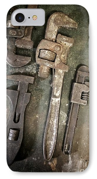 Old Spanners IPhone Case by Carlos Caetano