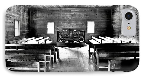 Old Time Religion -- Cades Cove Primitive Baptist Church IPhone Case by Stephen Stookey