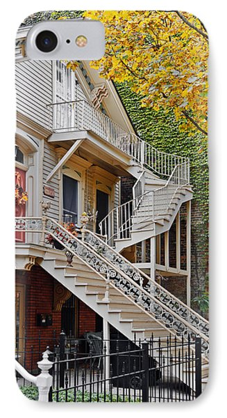 Old Town Chicago Living Phone Case by Christine Till