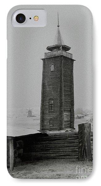 Old Watchtower Phone Case by Evgeniy Lankin