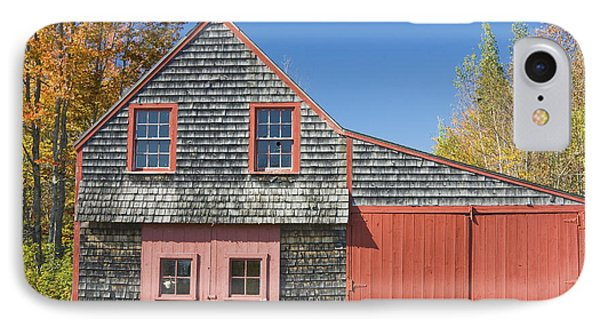 Old Wood Shingle Shed IPhone Case by Keith Webber Jr