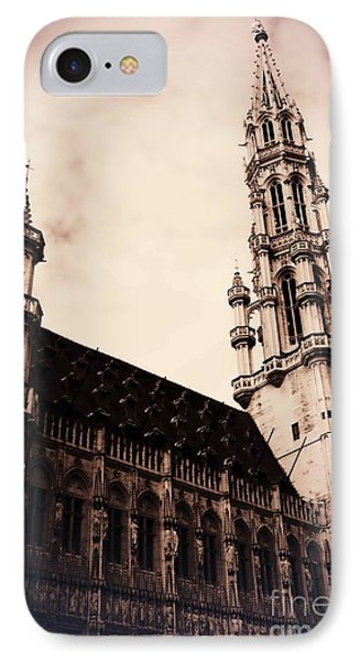 Old World Grand Place Phone Case by Carol Groenen