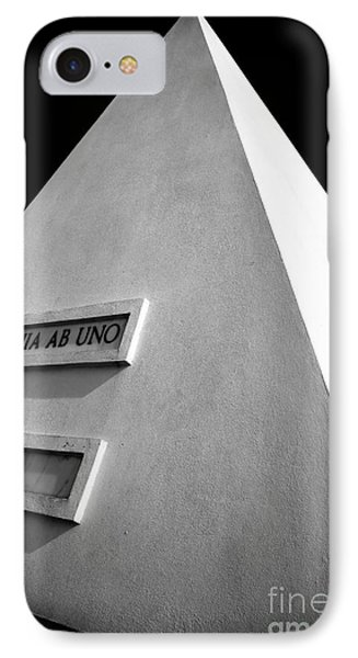 Omnia Ab Uno Phone Case by John Rizzuto