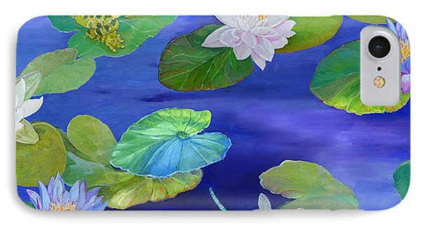 On Big Fresh Pond IPhone Case by Kimberly McSparran