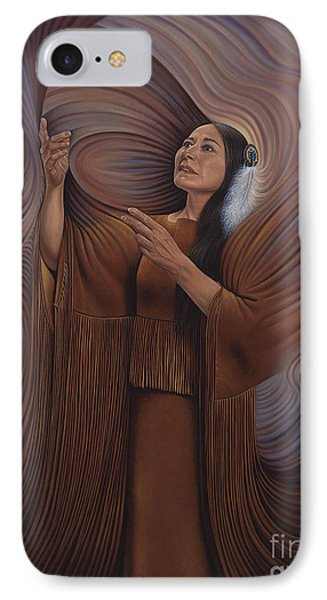 On Sacred Ground Series V IPhone Case by Ricardo Chavez-Mendez