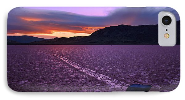 On The Playa Phone Case by Chad Dutson
