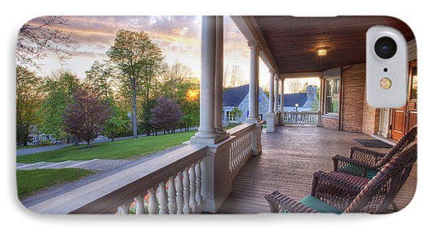 On The Porch IPhone Case by Eric Gendron