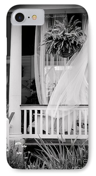 On The Veranda IPhone Case by Colleen Kammerer