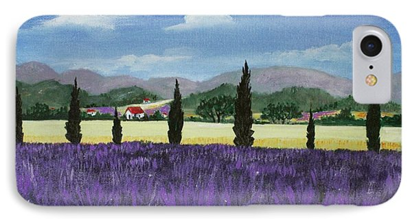 On The Way To Roussillon Phone Case by Anastasiya Malakhova