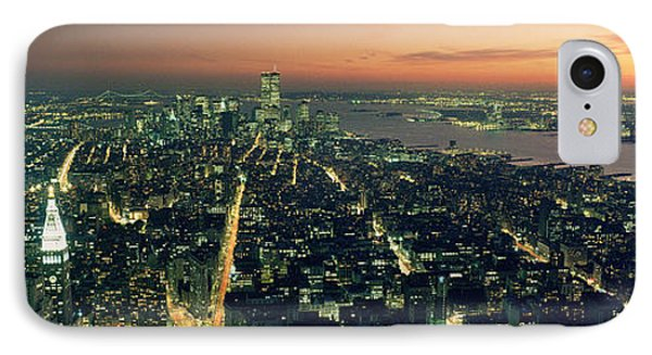 On Top Of The City Phone Case by Jon Neidert