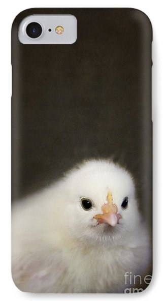 One Chick IPhone Case by Margie Hurwich
