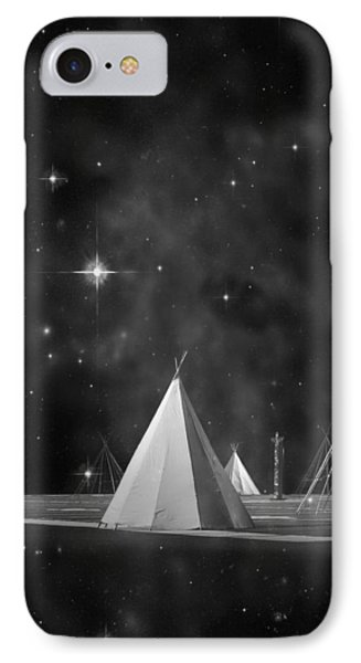 One Tribe Bw IPhone Case by Laura Fasulo