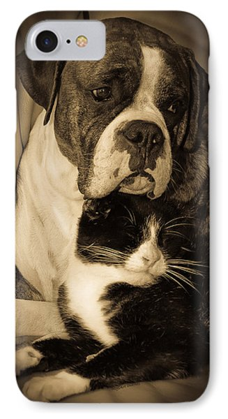 Opposites Attract IPhone Case by DigiArt Diaries by Vicky B Fuller