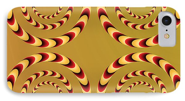 Optical Ilusions Summer Spin Phone Case by Sumit Mehndiratta