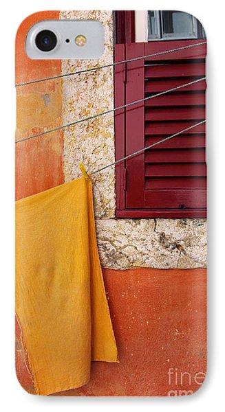 Orange Cloth  IPhone Case by Carlos Caetano